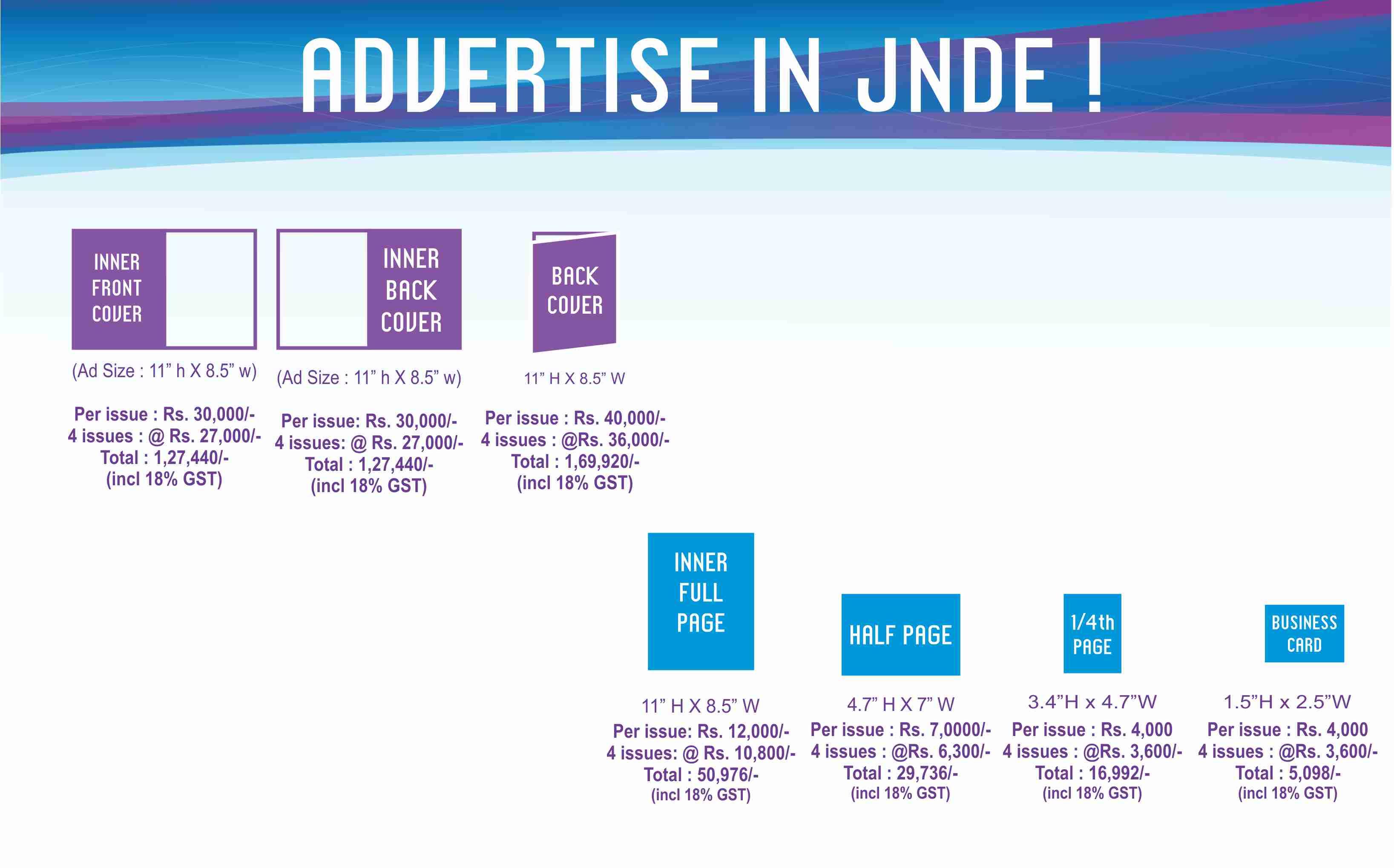 JNDE tariff